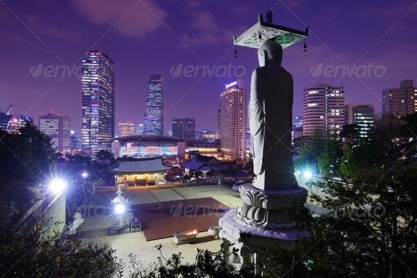 Gangnam Seoul - Stock Photo - Images