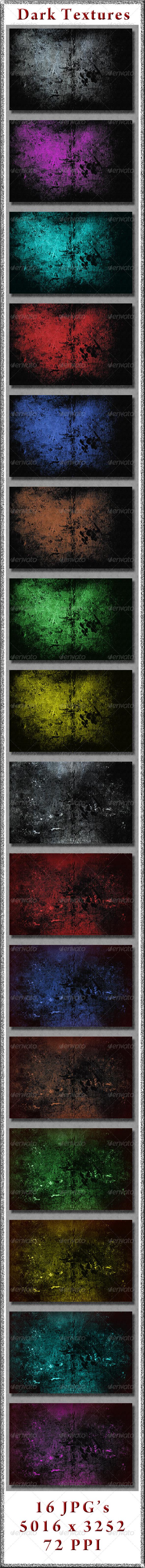 GraphicRiver Dark Textures 4148629