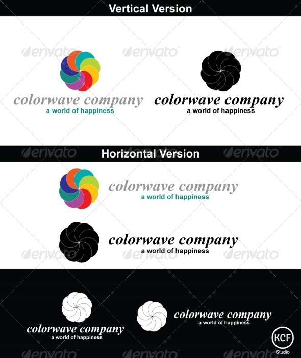 ColorWave Logo Design