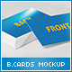 Realistic Business Card Mock-up 2 - GraphicRiver Item for Sale