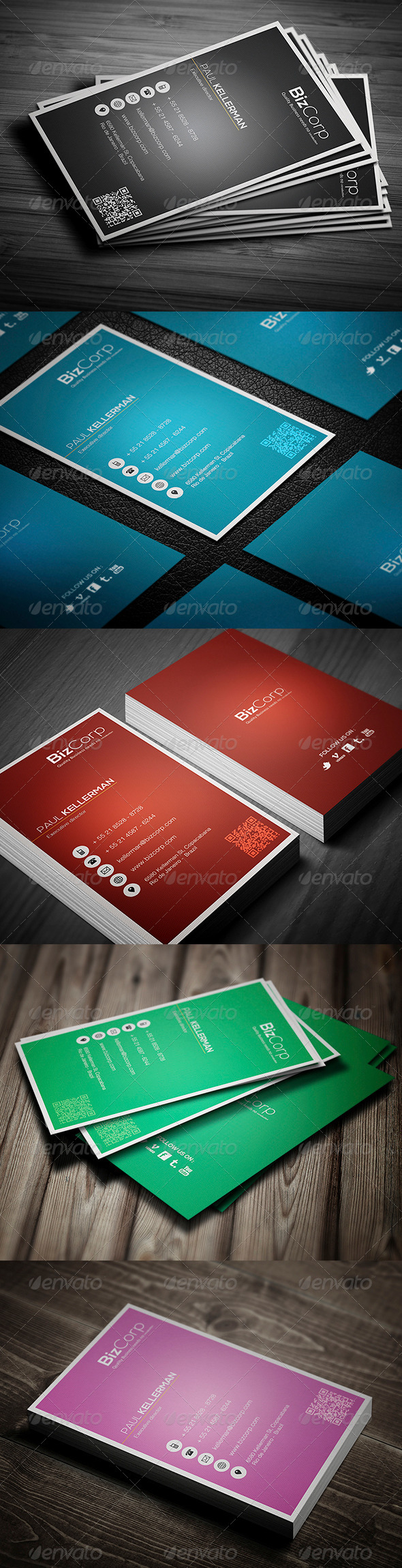 GraphicRiver Ultimate Business Card 4148891