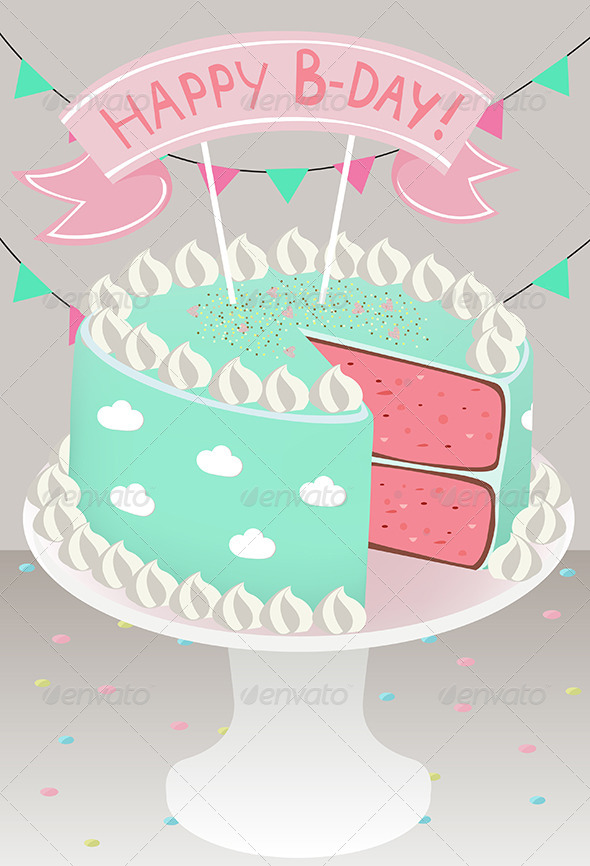 GraphicRiver Happy B-Day 4149065