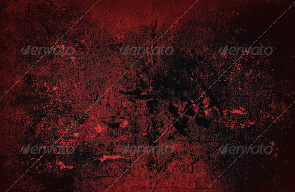 Blood Red Grunge - Stock Photo - Images
