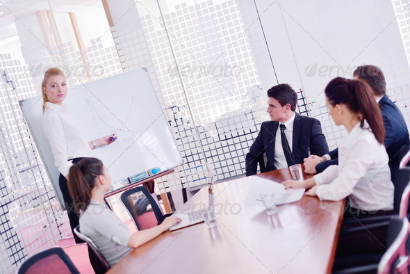 PhotoDune business people in a meeting at office 4151200