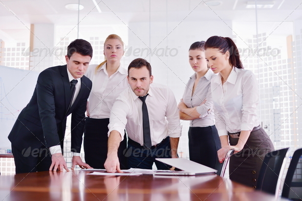 PhotoDune business people in a meeting at office 4151205