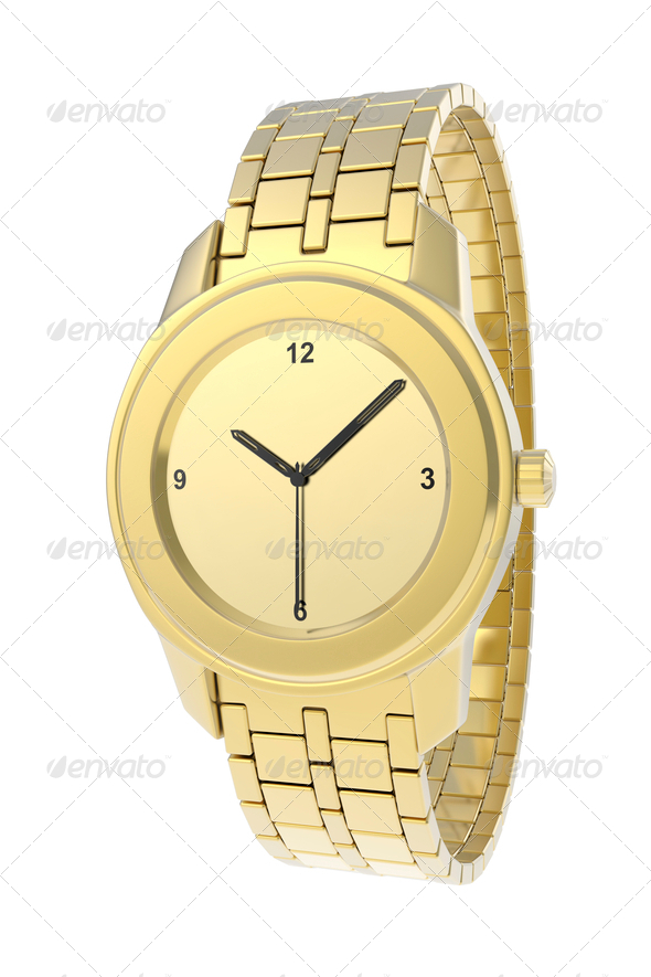 PhotoDune Luxury gold watch 4150270