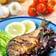 sea bream with salad - PhotoDune Item for Sale
