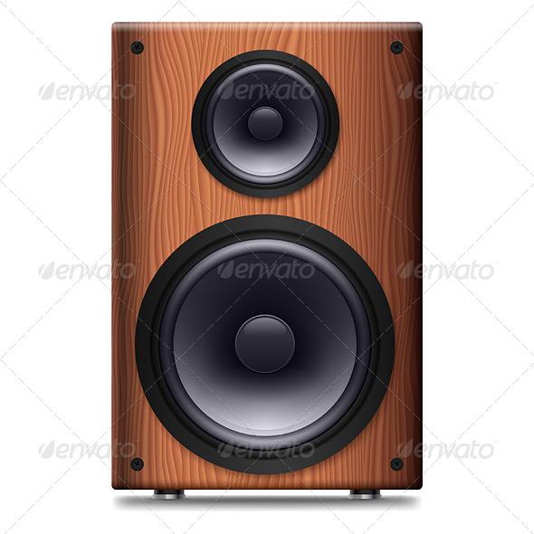 GraphicRiver Stereo Speaker 4150450
