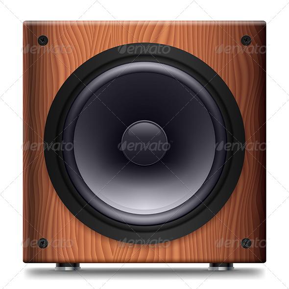 GraphicRiver Stereo Speaker 4150458