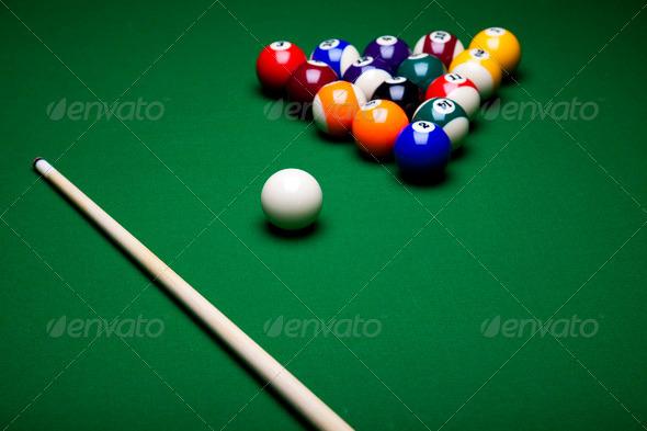 PhotoDune Billiard ball 4166152