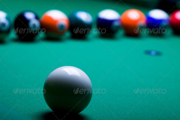 PhotoDune Snooker player 4166155