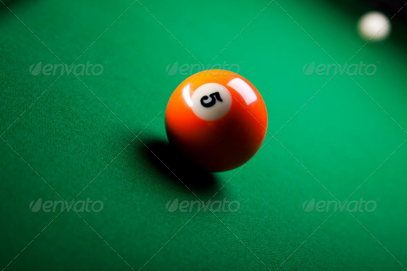 PhotoDune Billiard ball 4166157