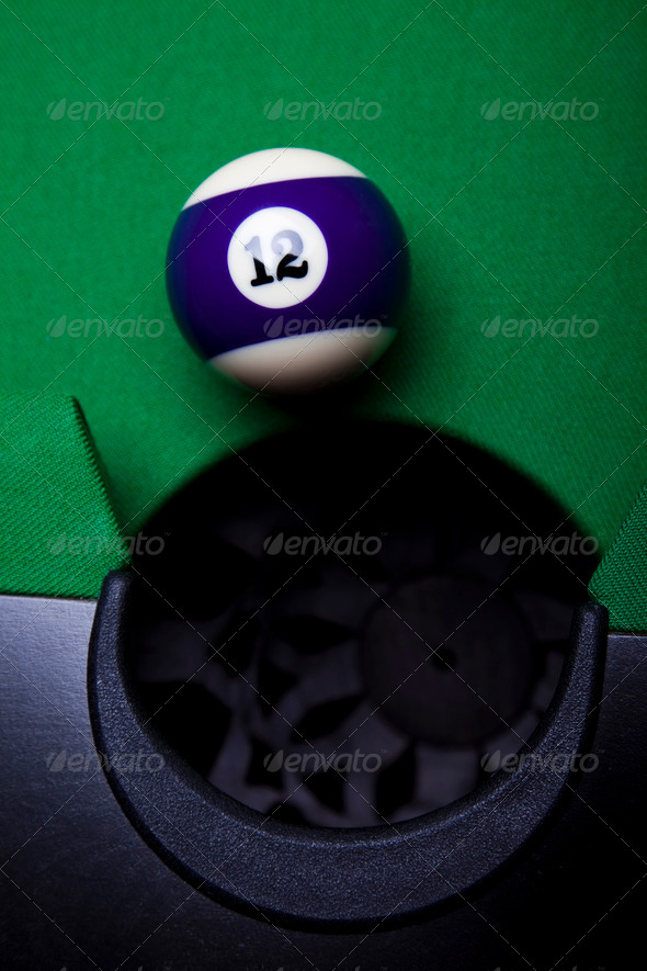 PhotoDune Billiard ball 4166159