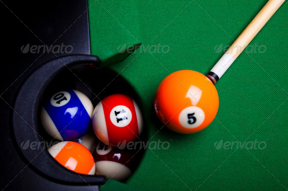 PhotoDune Playing pool 4166162