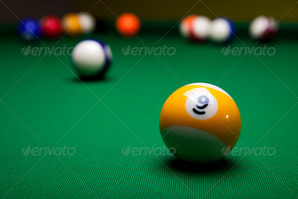 PhotoDune Billiard balls pool 4166163