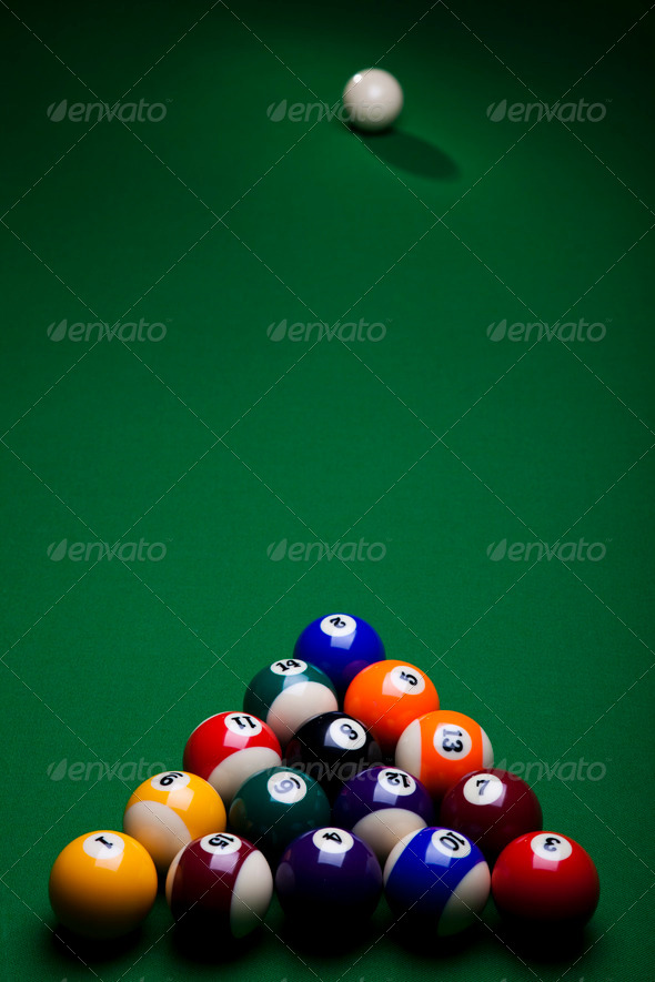 PhotoDune Billiard background 4166103