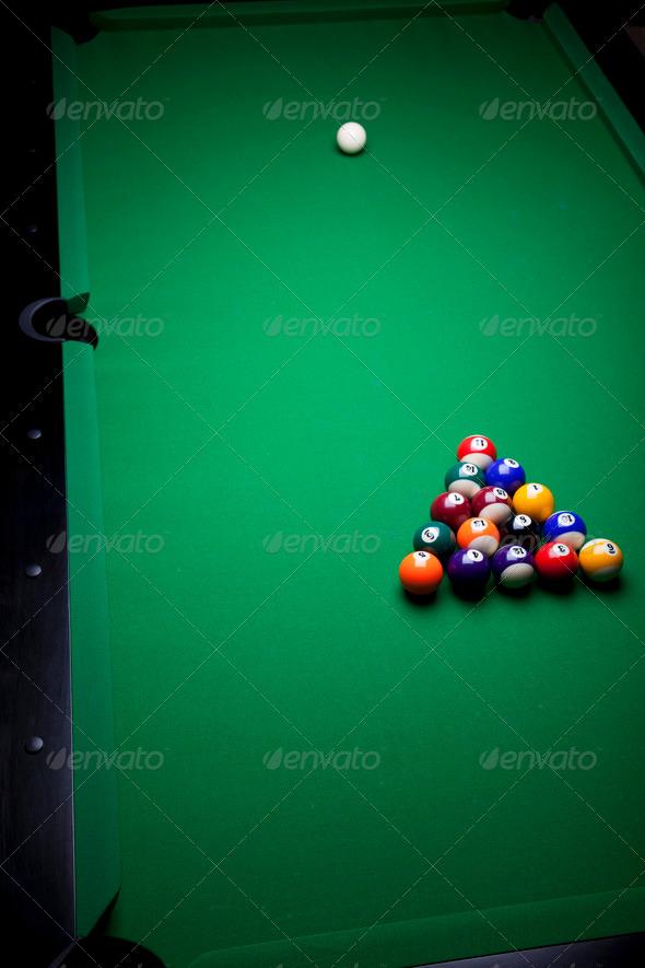 PhotoDune Billiard background 4166117