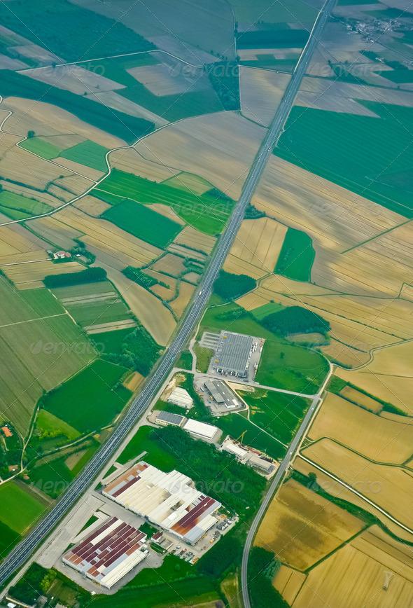 PhotoDune Highway aerial 4151244