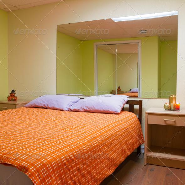 PhotoDune Bedroom Interior design 4175610