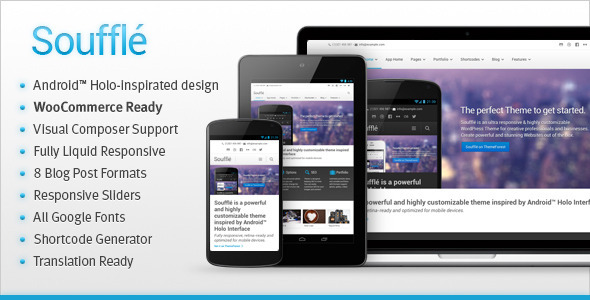 ThemeForest Souffle Responsive Retina Multi-Purpose Theme 4122675