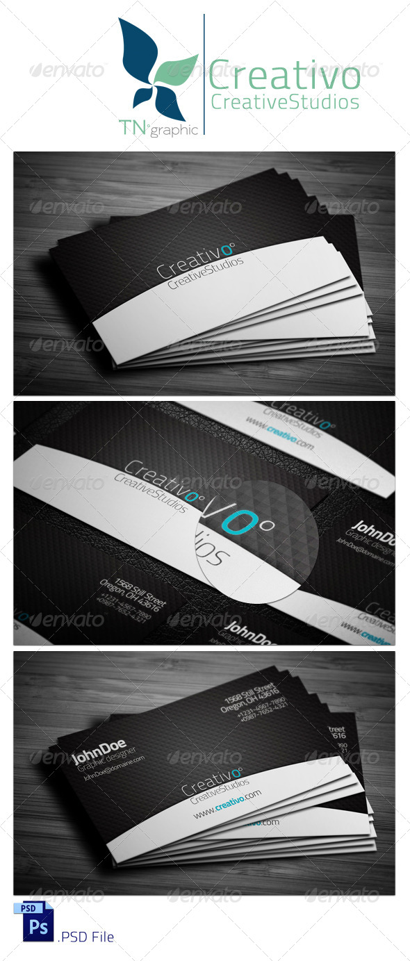 GraphicRiver CreativO Business Card 4151750