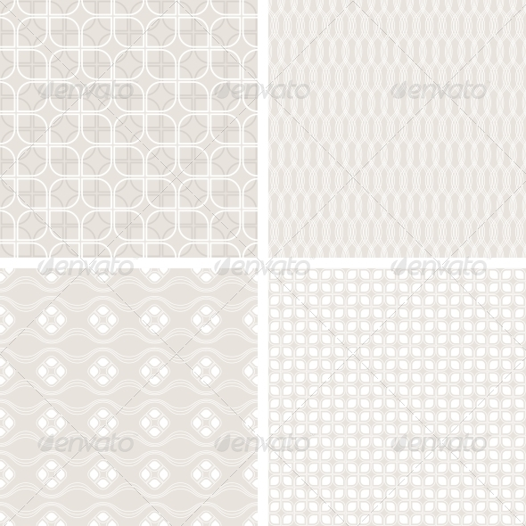 GraphicRiver Seamless Vintage Wallpaper Patterns 4151889