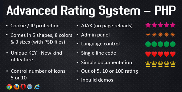 CodeCanyon Advanced Rating System PHP 4118821