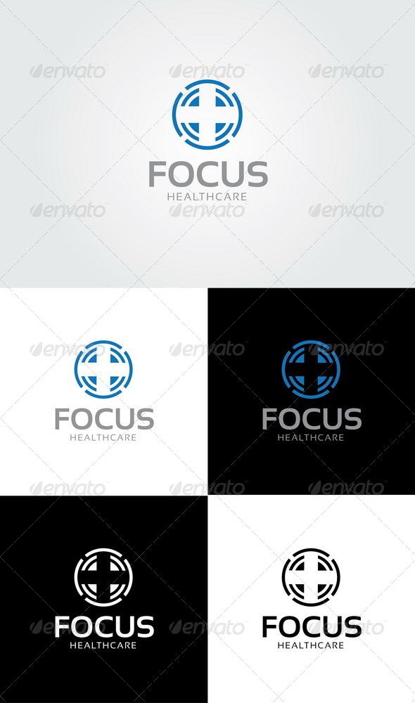 GraphicRiver Focus Healthcare Logo 4152221