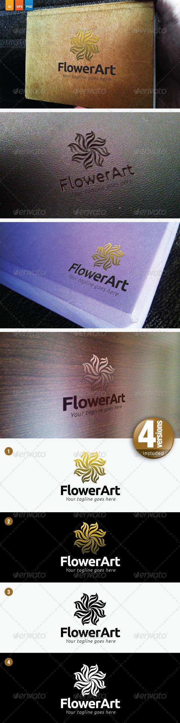 GraphicRiver Flower Art 3828490