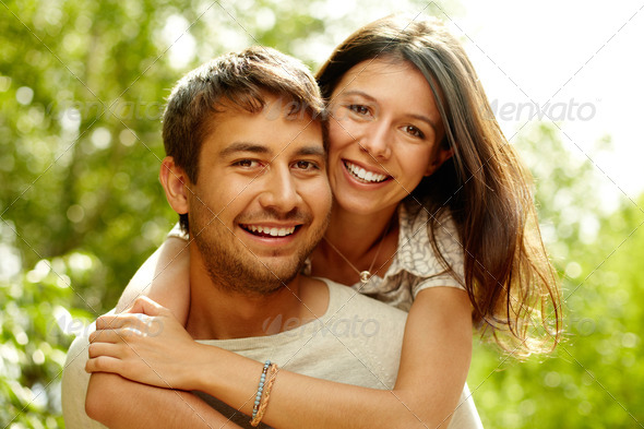 Happy couple - Stock Photo - Images