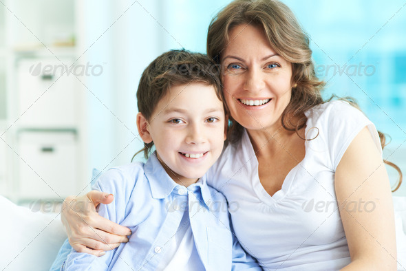 Cheerful people - Stock Photo - Images