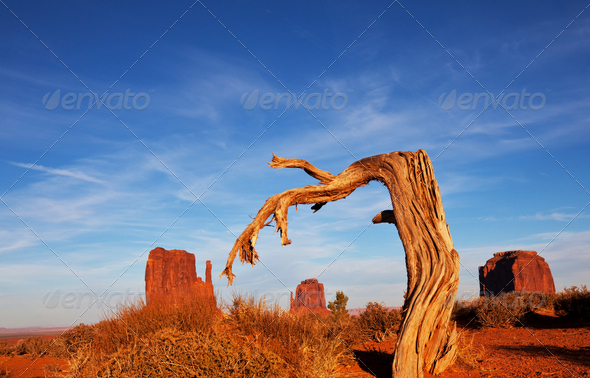 Monument Valley - Stock Photo - Images