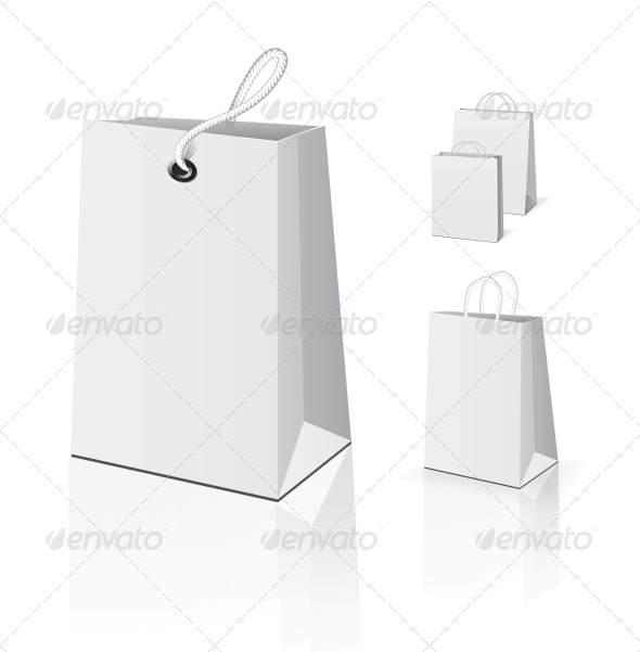 GraphicRiver Empty Shopping Bag Set 4155782