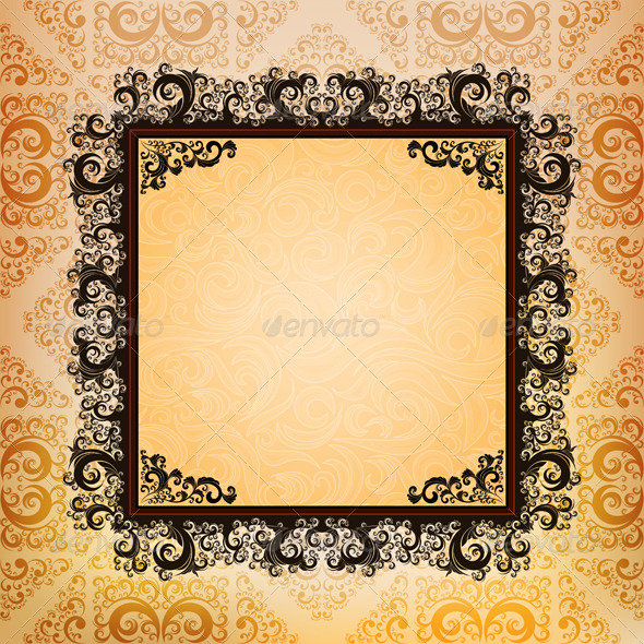 GraphicRiver Ornamented Background 4155784