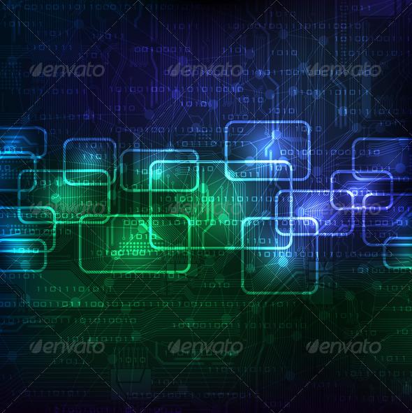 GraphicRiver Futuristic Background 4155927