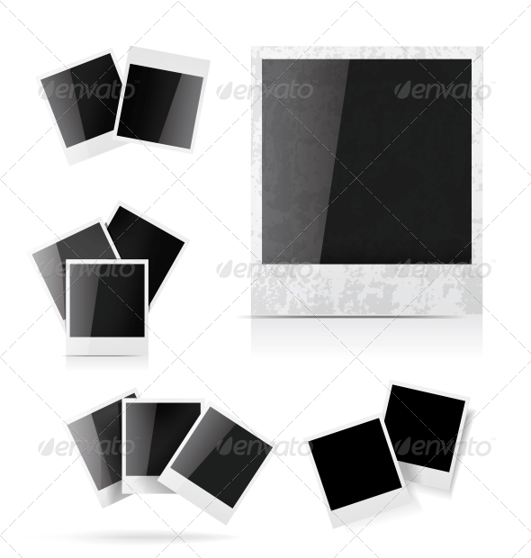 GraphicRiver Polaroid Photo Frame 4155928
