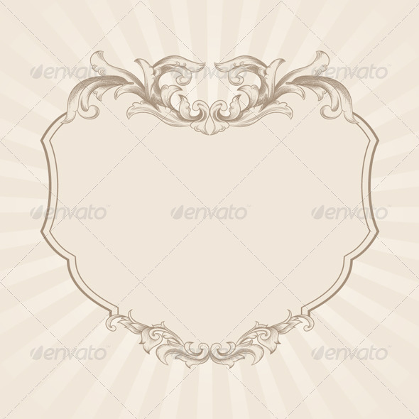 GraphicRiver Decorative Frame Vector 4156288