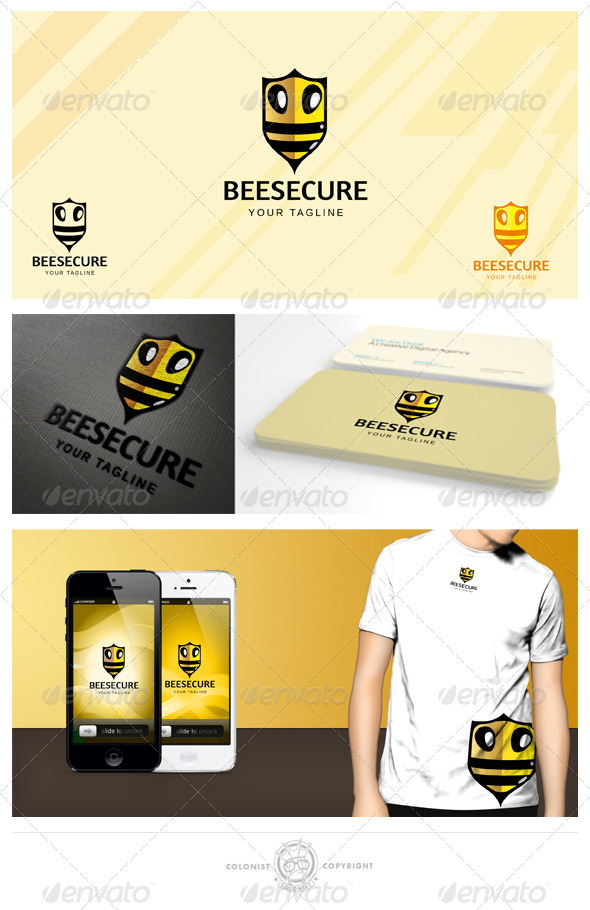 GraphicRiver Beesecure Logo 4156701