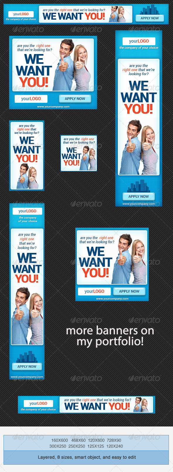GraphicRiver Corporate PSD Banner Ad Template 4 4156952