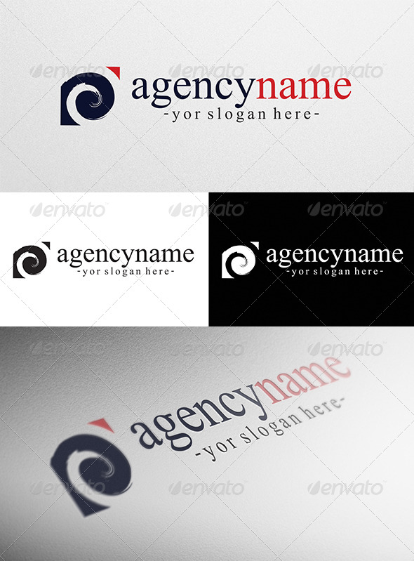 GraphicRiver Abstract Agency Logo 4157197