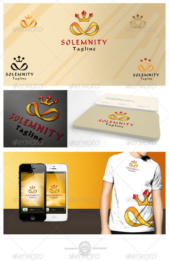 GraphicRiver Solemnity Logo 4157693