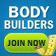 Body Builders Banners - GraphicRiver Item for Sale