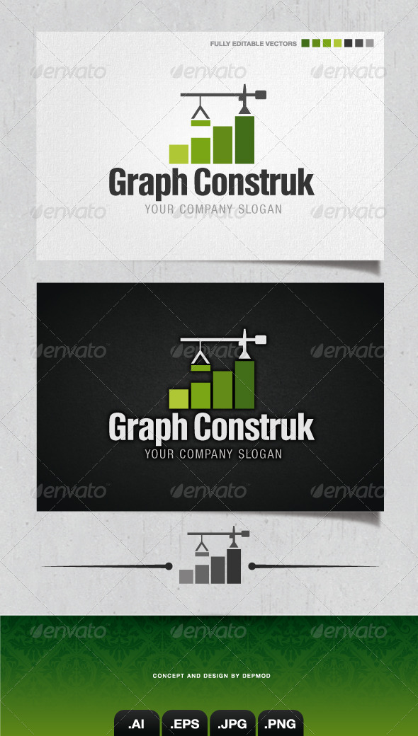GraphicRiver Graph Construk Logo 4158202