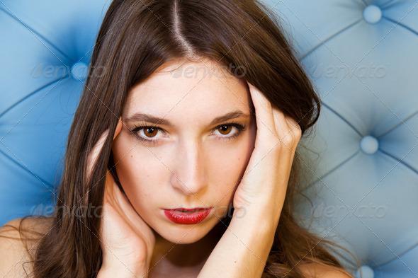 Beautiful model - Stock Photo - Images