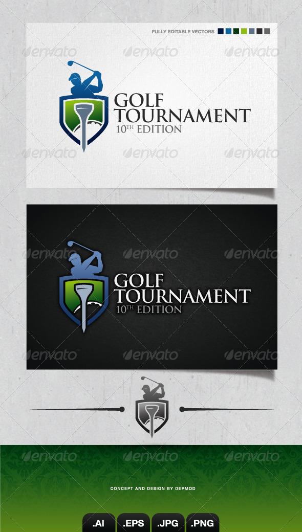 GraphicRiver Golf Tournament Logo 4158344