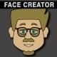 Cartoon Character Creator / Animator (Male Heads) - VideoHive Item for Sale