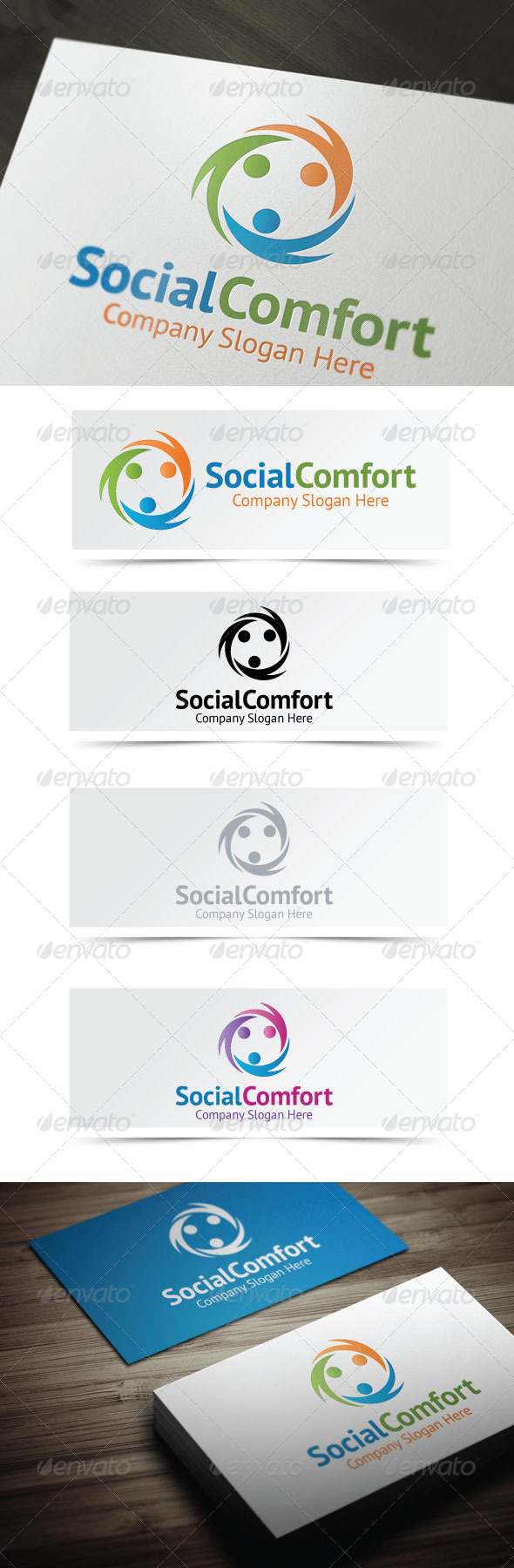 GraphicRiver Social Comfort 4158521