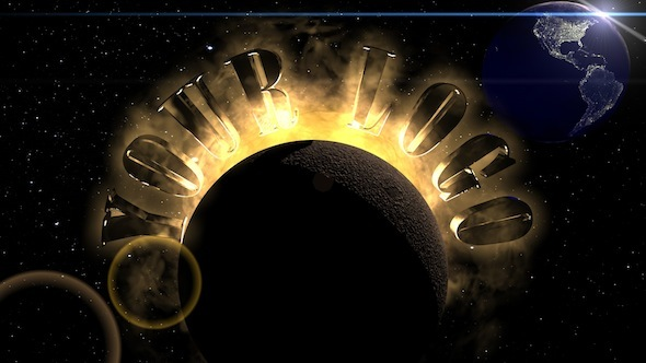 3DOcean Solar System Logo 4159124