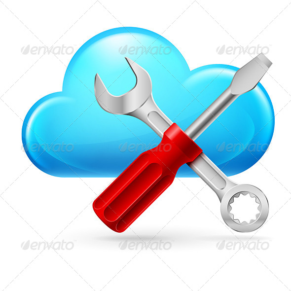 GraphicRiver Single Cumulus Cloud and Tools 4159266
