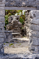 Path through Mayan Ruins at Tulum - PhotoDune Item for Sale